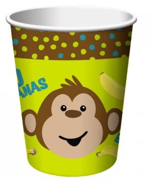 Banana Monkey Cups