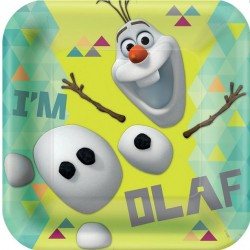 Olaf Large Paper Plates