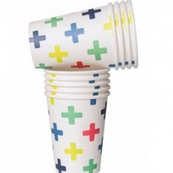 Crosses Paper Cups