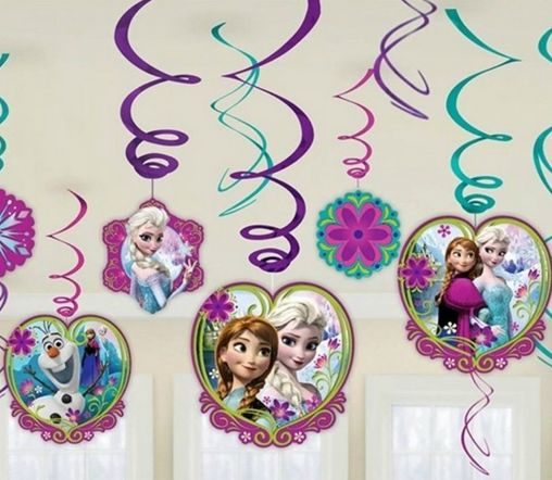 Disney Frozen Hanging Swirls