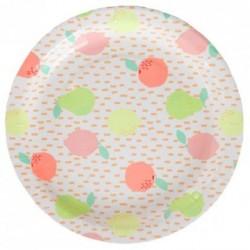 Fruity Sorbet Plates