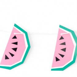 Garland Geo Watermelon