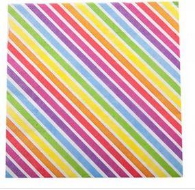 Rainbow Stripe Napkins