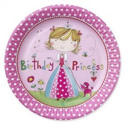 Princess Party Plates Rachel Ellen