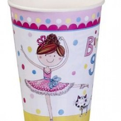 Ballerina Party Cups Rachel Ellen