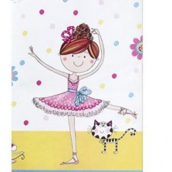 Ballerina Party Tablecover Rachel Ellen