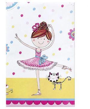 Ballerina Party Tablecover Rachel Ellen