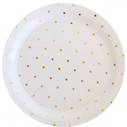 Gold Spot Large Plates