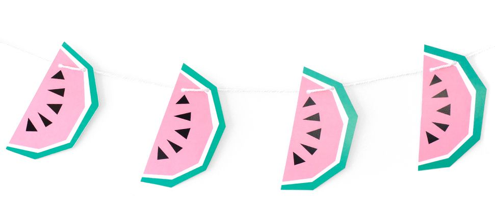 Garland Geo Large Watermelon