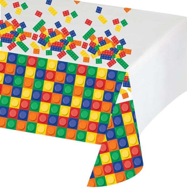 Building Brick Party Tablecover