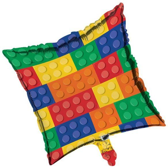 Building Block Party Foil Balloon