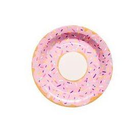 Donut Sprinkle Plates