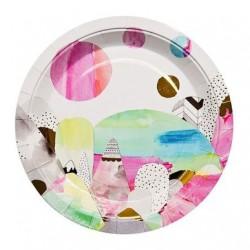 Laura Blythman Art Series Plates