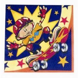 Skateboard Napkins