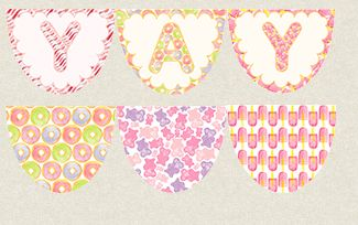 Birthday Bunting Kit