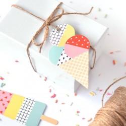 Ice Cream Gift Tag
