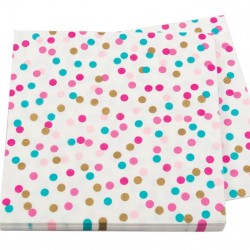 POP Dot Coloured Confetti Napkins