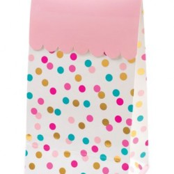 POP Dot Coloured Confetti Treat Bags