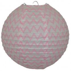 Lantern Chevron Pink