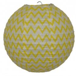 Lantern Chevron Yellow