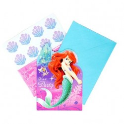 Disney Little Mermaid Invitations