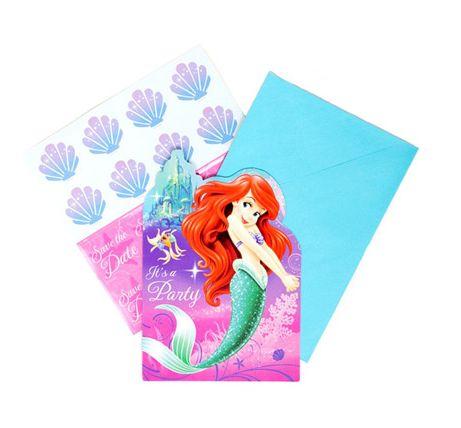 Disney Little Mermaid Invitations
