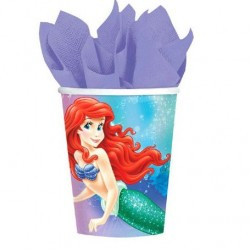 Disney Little Mermaid Cups