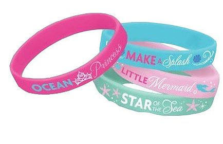 Disney Little Mermaid Wristbands
