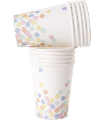 Confetti Dots Cups