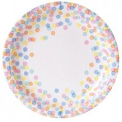 Confetti Dot Plates