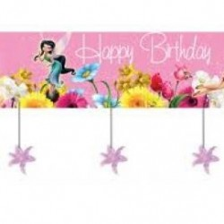 Disney Tinkerbell Party Banner