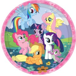 My Little Pony Friendship Plate