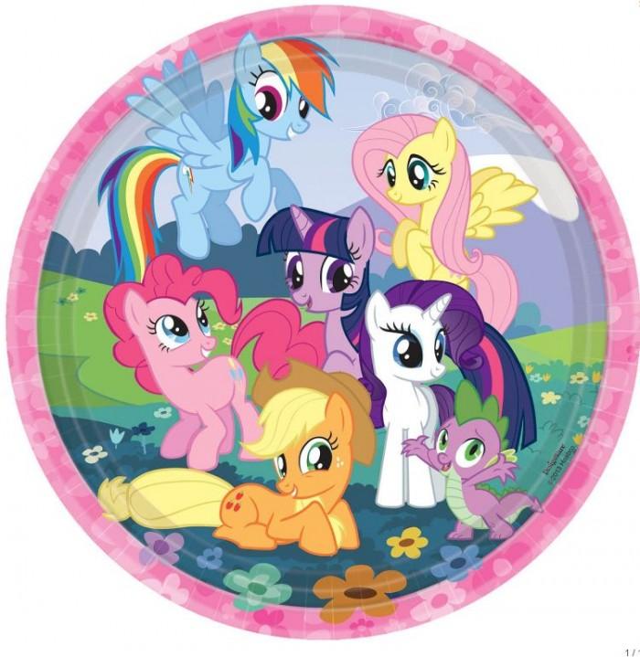 My Little Pony Friendship Plate