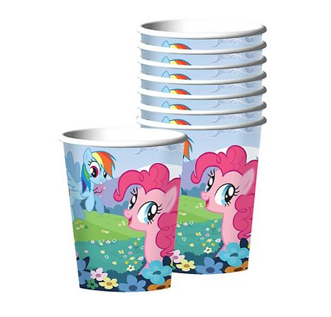My Little Pony Friendship Cups