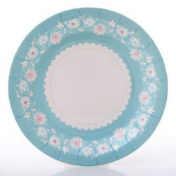 Daisy Chain Blue Plate