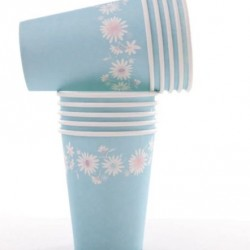 Daisy Chain Blue Cups