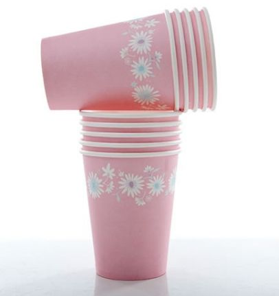 Daisy Chain Pink Cups