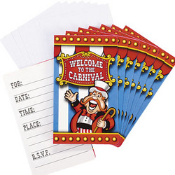 Carnival Invitations & Envelopes