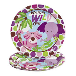 Safari Girl Plates