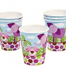 Safari Girl Cups