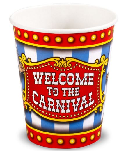 Carnival Paper Cups