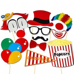 Circus Photo Booth Props