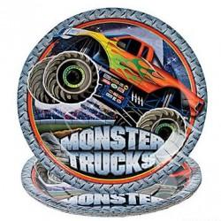 Monster Truck Dinner Plates
