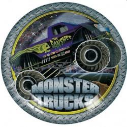 Monster Truck Dessert Plate
