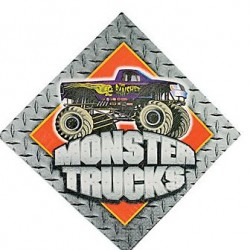 Monster Truck Napkins