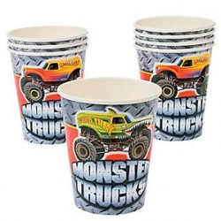 Monster Truck Cups