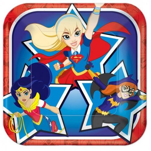 DC Super Hero Girl Plate
