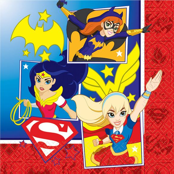 DC Super Hero Girl Napkins