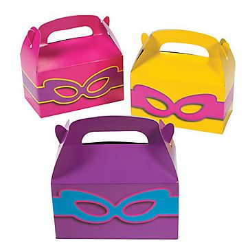 Super Girl Treat Boxes