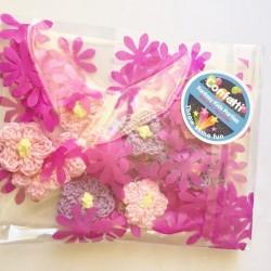 Handmade Flower Crotchet Confetti